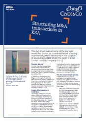Structuring MA Transaction In KSA PDF 175